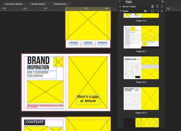 Affinity designer pages