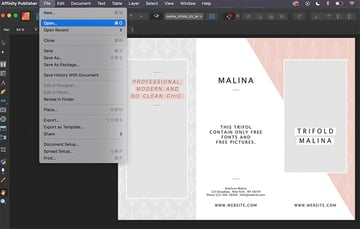 publisher IDML files