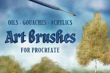 Art Brushes for Procreate
