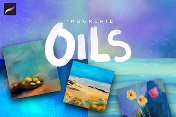 Procreate Artist Oil Brushes