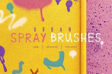 Procreate&Ph Urban Spray Brushes