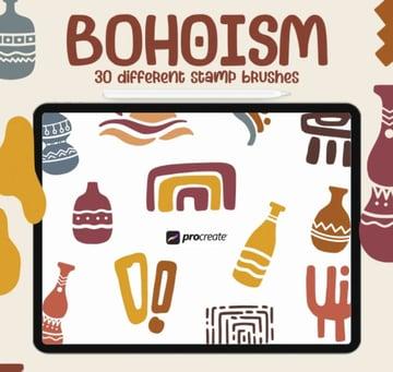 Good Bohoism - Procreate Stamp Brush