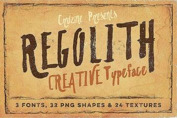 Regolith Font