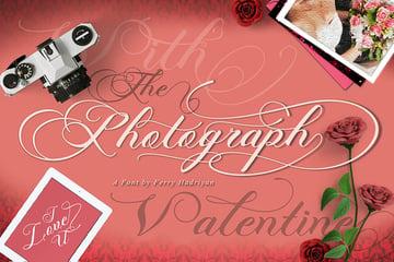 Photograph - Script Wedding Font