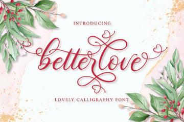 Betterlove Calligraphy