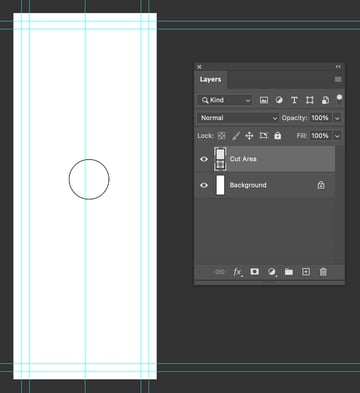 photoshop new guide