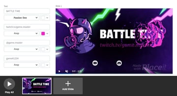 twitch starting soon screen