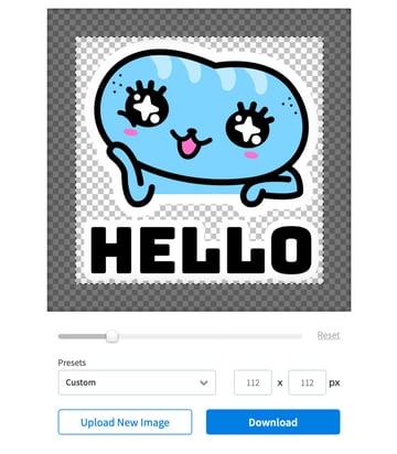 online image cropper