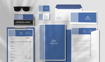 design template stationery