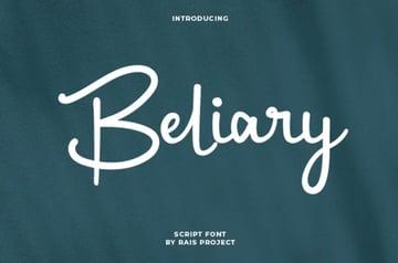 Beliary Handwriting Font