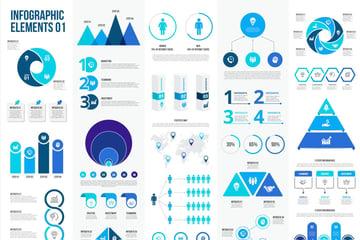 Infographics Templates for Affinity Designer