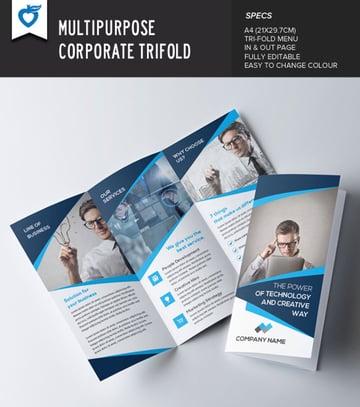 Business Affinity Designer Brochure Templates