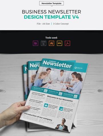 Newsletter Affinity Designer Templates