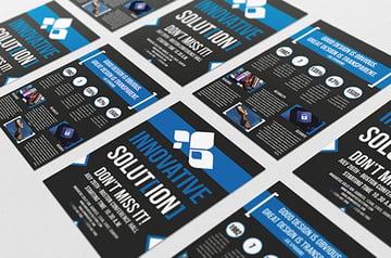 Affinity Designer Flyer Template Bundle