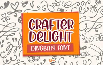 Crafter Delight Dingbats Font