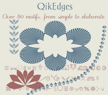 QikEdges - edges & borders font