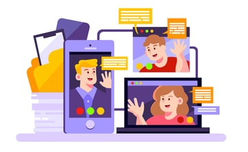 connect with remote employees