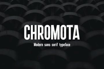 Chroma Font Family