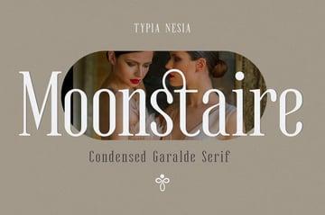 Moonstaire - Condensed Serif