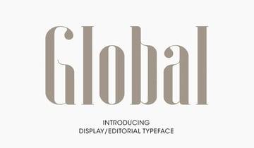 Global Condensed Font