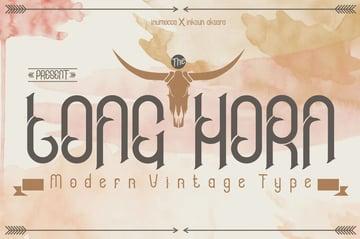 Longhorn Font