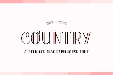 Country Font