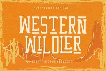 Western Wildler Slab Vintage