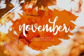 November Beauty Signature Script