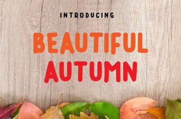 Beautiful Autumn Sans