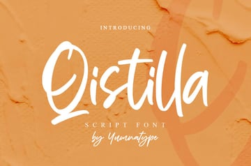 Qistilla Casual Handwritten Font