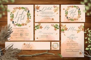 autumn invitations