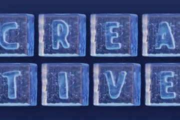Ice Cube 3D Color SVG Font