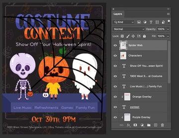 photoshop paste in document