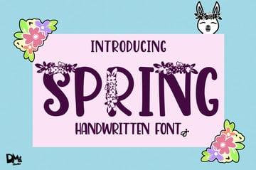 Spring Handwritten Font