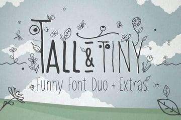 Tall & Tiny Font Duo