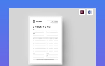 form for microsoft word