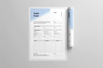 word purchase order template