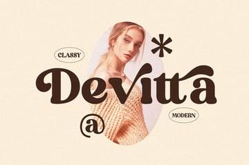 Devitta Stylish Serif Font
