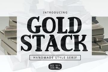 Gold Stack Serif