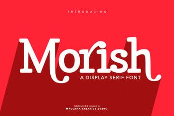 Morish Display Serif Handmade Font