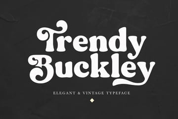Trendy Buckley Rounded Serif Font