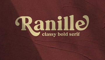Ranille Rounded Serif Font
