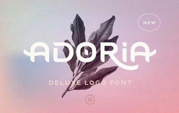 Adoria Deluxe Logo Font