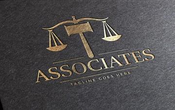 serif font logo