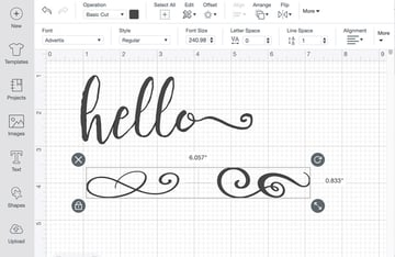 Cricut Flourish Font
