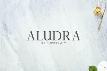 Aludra Serif Font Family Pack