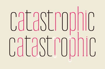 thin condensed font