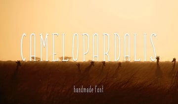 Camelopardalis Font