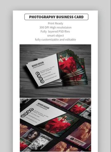 Fashion Photography Card
