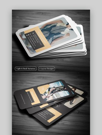 reative Fashion Business Card